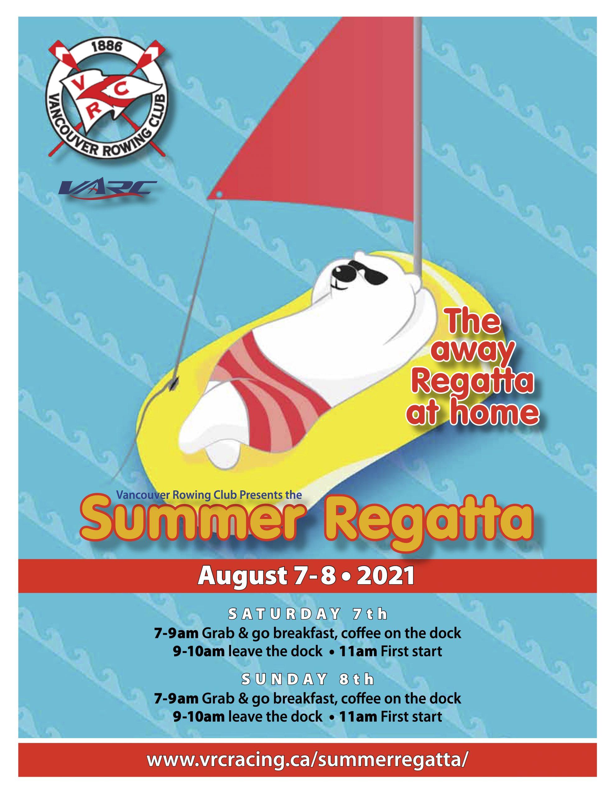 2021 Summer Regatta Poster