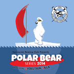 Big wind for opening Polar Bear race!