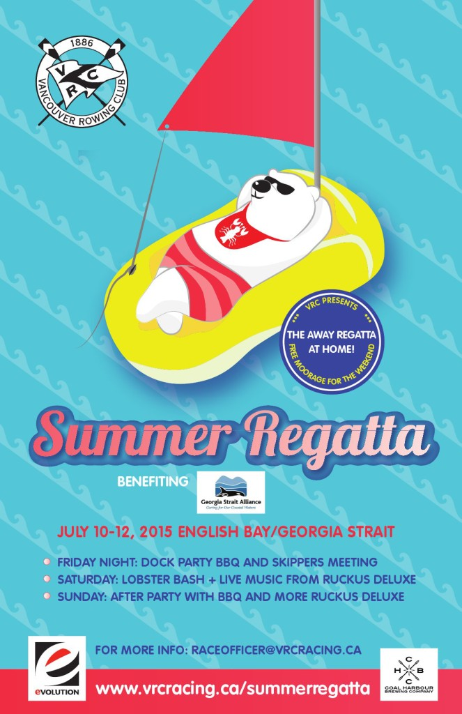 Summer Regatta 2015 Poster